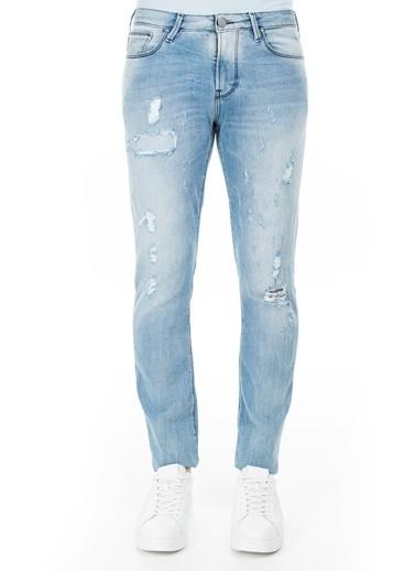 Armani Jeans  J06 Jeans Erkek Kot Pantolon 3Y6J06 6D1Vz 1500 Mavi